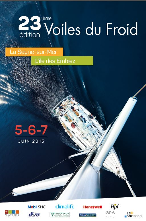 On the 5, 6 and 7 June : head for the Ile des Embiez, France, for the 23rd Voiles du Froid Regatta
